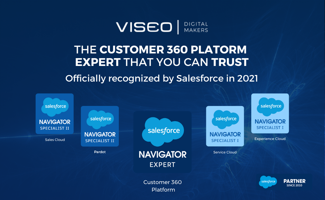 VISEO - Expert Salesforce Customer 360 Plateform