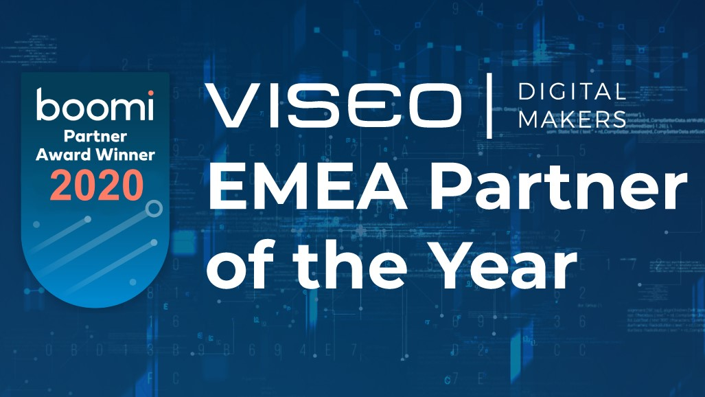 VISEO EMEA Partner of the Year 2020 Boomi