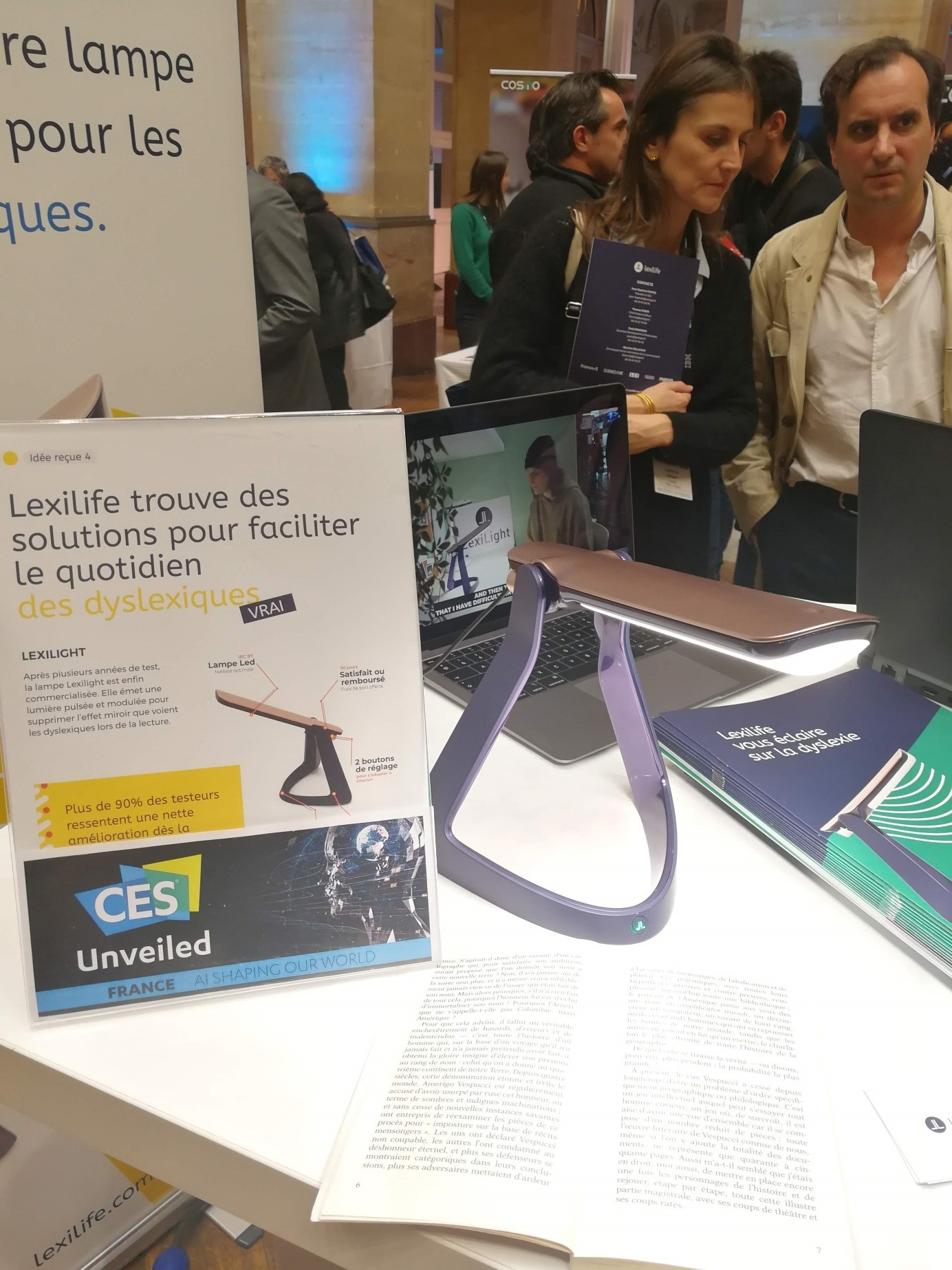 lexilight ces unveiled by VISEO