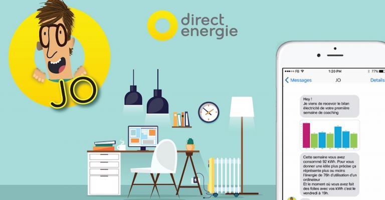 VISEO accompagne Direct Energie sur Jo, son agent conversationnel